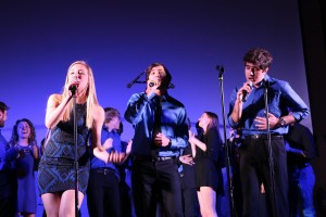 "Hannah, Nick, and Shayaan harmonize during ""Temporary Fix"" by One Direction"